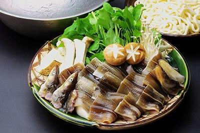 穴子・穴子鍋コースの画像