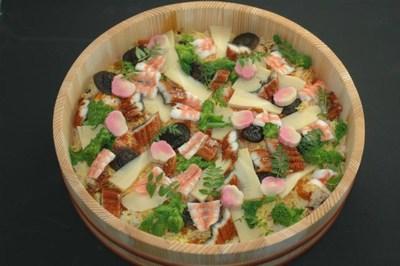 寿司桶ちらし寿司の画像