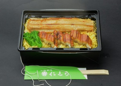 温か穴子重箱弁当の画像