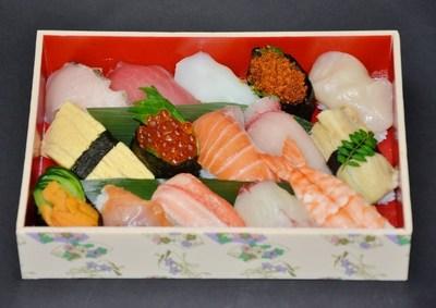 上にぎり寿司盛合わせ(15貫)の画像