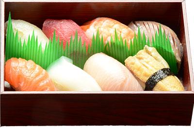にぎり寿司盛合わせ(8貫)の画像