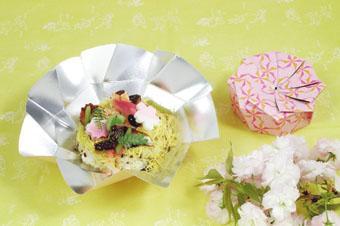 花ちらし寿司の画像