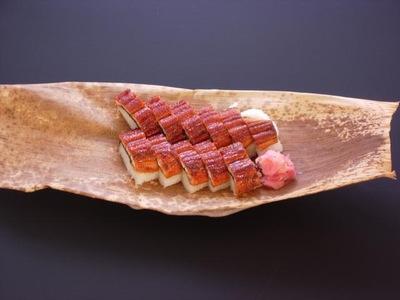鰻棒寿司の画像