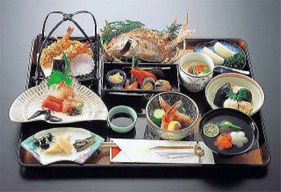 お祝い会席料理の画像