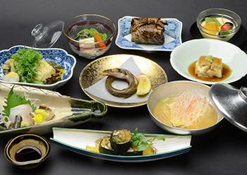 あなご会席(コース)料理の画像