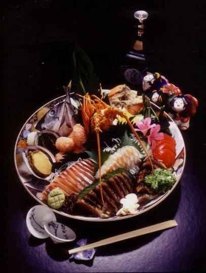 土佐皿鉢料理の画像