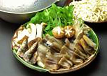 穴子鍋コースの画像