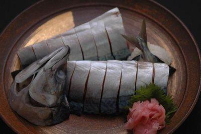 さば姿寿司の画像