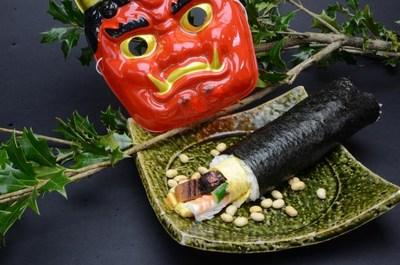 節分の特上巻き寿司の画像