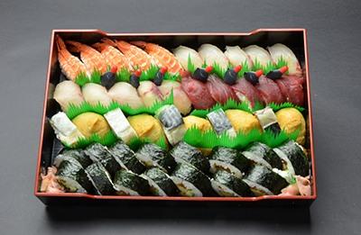 寿司盛り合わせ(5人前盛)の画像