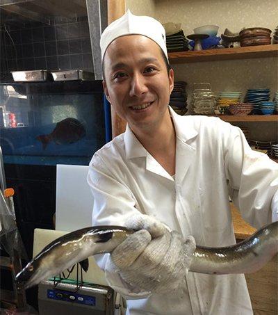 淀川産 天然鰻の画像