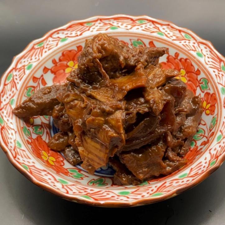 黒毛和牛 すじ肉味噌煮込みの画像