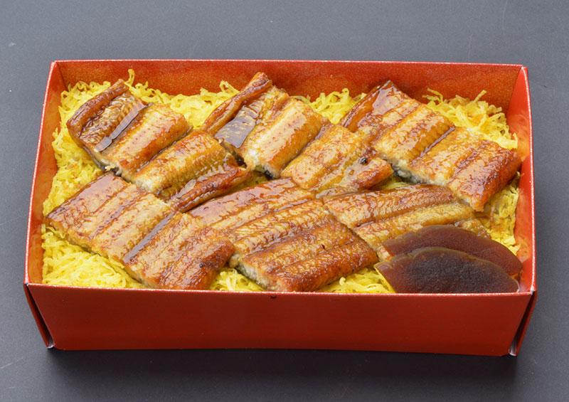鰻丼弁当の画像